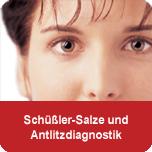 Schüßler-Salze und Antlitzdiagnostik - Ausbildung