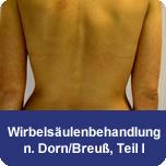 Wirbelsäulenbehandlung nach Dorn/Breuß Teil I