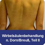 Wirbelsäulenbehandlung nach Dorn/Breuß Teil II