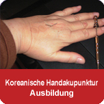 Koreanische Handakupunktur - Ausbildung