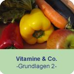 Vitamine & Co. (Grundlagen 2)