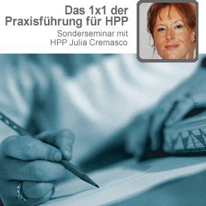 """Sonderseminar """"Das 1x1 der Praxisführung für HPP"""""""
